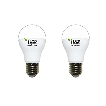 Imperial 8W E27 3619 LED Premium Bulb (Warm White, Pack of 2)