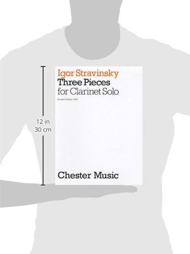 Three Pieces for Clarinet Solo