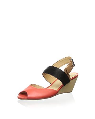Matiko Women's Greta Ankle Strap Wedge Sandal