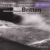 Sinfonia da Requiem / 4 Sea Interludes / The Young Person's Guide to the Orchestra