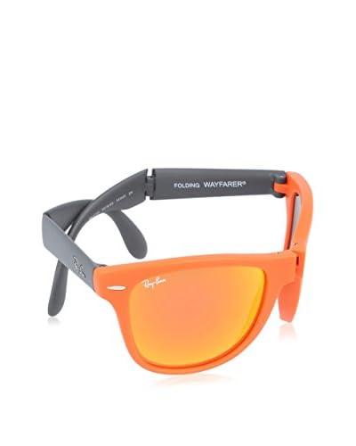 Ray-Ban Occhiali da sole FOLDING WAYFARER MOD. 4105 Arancione