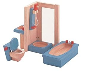 Buy PlanToys Toys - Plan Toys Plan Toys Dollhouse Furniture - Neo Bathroom