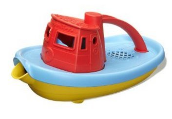 Game / Play Red - Green Toys My First Tugboat, Toys, Green, Educational, Kids, Bath, Unique, Baby Toy / Child / Kid