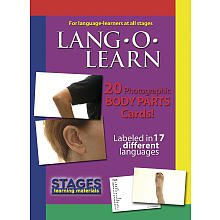 Body Parts Lang-O-Learn Flashcards