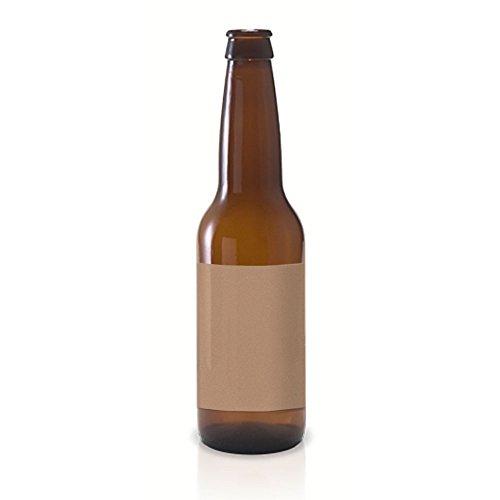 15 Full Wraparound Kraft Beer Bottle Labels For Beer