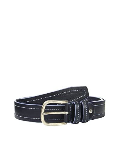 Ortiz & Reed Cintura Pelle Vatilo  [Blu Navy]