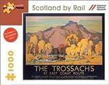 Scotland by Rail the Trossachs 1000 Piece Puzzle