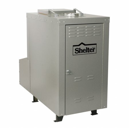 Shelter SF3042 140000 BTU Outdoor Wood Coal Burning Forced Air Furnace