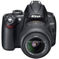 Nikon D5000 DX-Format 12.3 Megapixel Digital SLR Camera Kit - Refurbished - by Nikon U.S.A. with Nikon 18mm - 55mm f/3.5-5.6G AF-S DX (VR) Vibration Reduction Wide Angle Autofocus Zoom Lens, - Refurbished - by Nikon U.S.A.