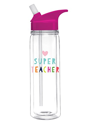 18 Oz. Double Wall Insulated Water Bottle - Super Teacher