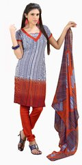 Shaily Retails Women's Beautiful Unstiched Crepe Dress Material