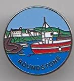 Roundstone Ireland Irish Town Pin Badge