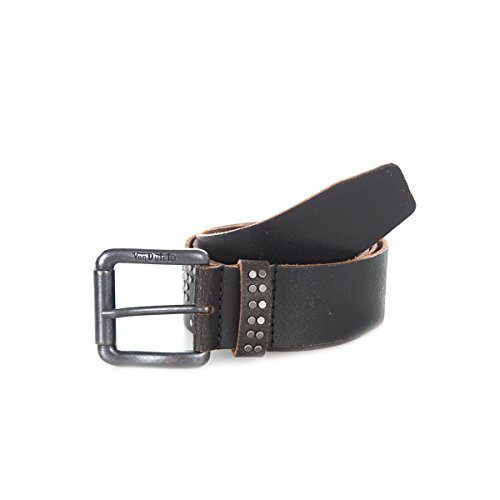 vondutch-ceinture-cuir-marron-fonce-poincon-von-dutch-taille-95-couleur-noir-100-cuir-veritable