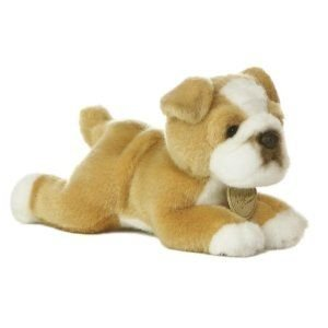 Aurora World Plush - Miyoni - BULL DOG (Small - 8 inch)