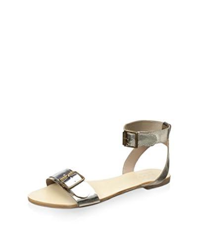 nude Women's Arabian Flat Sandal