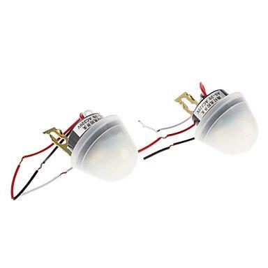 Zclinfrared Sensor Photo-Electric Street Lighting Control (220V, 2-Pack)