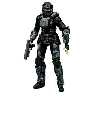 Halo Series 7 Action Figure - Oni Operative Dare (from ODST)