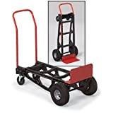 Milwaukee Hand Truck - 500-Lb. Capacity, Nylon/Poly, Convertible, Model# 40611