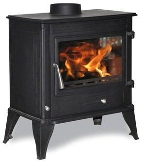 Seville 14kW Multifuel Woodburner Boiler Stove