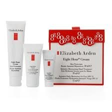 Elizabeth Arden Eight Hour Eight Hour Gift Set: 50Ml Eight Hour Skin Cream 15Ml Eight Hour Intensive Face Moisturizer Spf15 & 30Ml Eight Hour Hand Cream