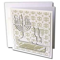 Beverly Turner Hanukkah Design - Menorah, Hanukkah,