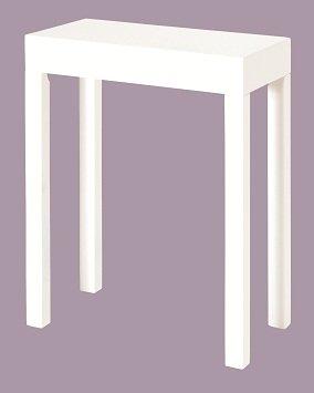 duravit puravida konsole 075c 80cm 1 ausschnitt f r nische farbe wei hochglanz lack pv075c. Black Bedroom Furniture Sets. Home Design Ideas