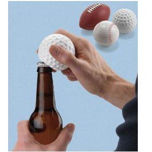 Sports Lover's Talking Golf Ball Bottle Opener