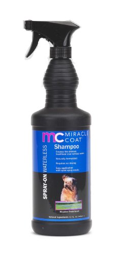 Miracle Coat Spray on Waterless Dog Shampoo, 32-Ounce