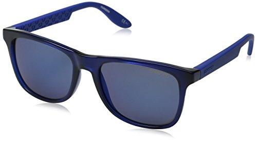 Carrera CA5025S Wayfarer Sunglasses, Blue & Blue Sky Mirror, 54 mm (Sunglasses Carrera Blue compare prices)