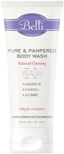 Belli Pure & Pampered Body Wash- 6.5 oz - 1