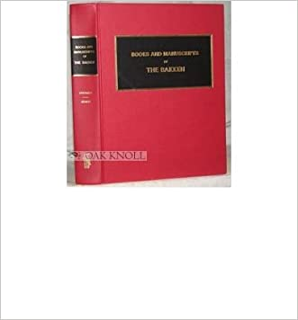 Books and Manuscripts of the Bakken