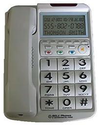 Big Button w/ Caller ID WHITE-NWB-20270-1