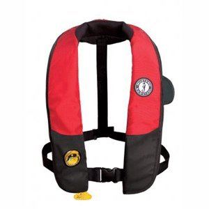 MUSTANG SURVIVAL MUSTANG DELUXE AUTOMATIC INFLATABLE W HAMMAR INFLATOR by Mustang Survival