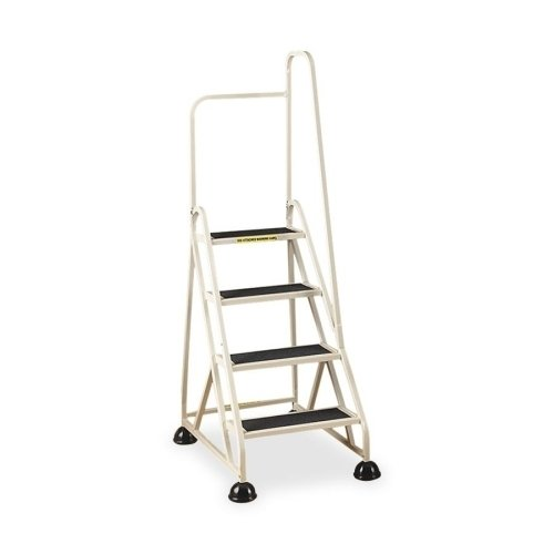 Cramer Industries, Inc. 4-Step Ladder, w/ Right Handrail, 24-5/8