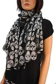 unisex-skull-print-chiffon-scarf-ornamental-kerchief-cozy
