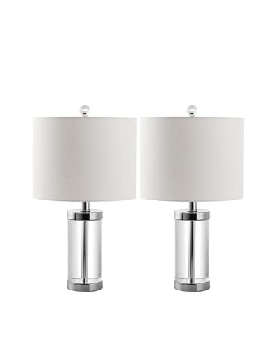 Safavieh Set of 2 Laurie Crystal Table Lamps