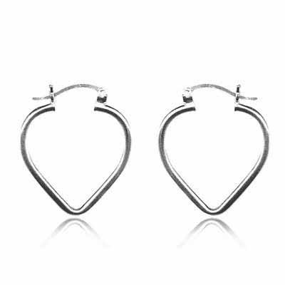 sterling-silver-celebrity-heart-shaped-hoop-earrings