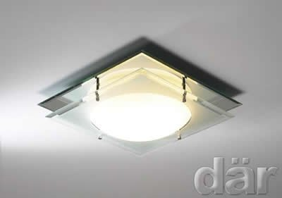 Bathroom Ceiling Light [ DAR Mantra IP44 - MAN472 ] IP44 Rated for bathroom zones 2 & 3.