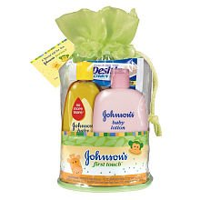 Johnson's Baby First Touch Gift Set - 1