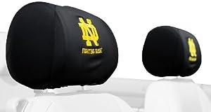 Buy NCAA Notre Dame Fighting Irish Headrest Covers, Set of 2 by BSI