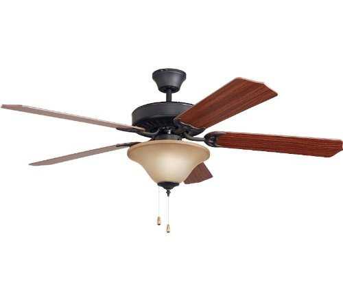 Ellington E-ELN52ABZ5C1T The Ellington Collection 52 in. Indoor Ceiling Fan - Aged Bronze