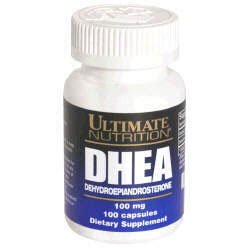 Ultimate Nutrition DHEA -- 100 mg- 100 Capsules