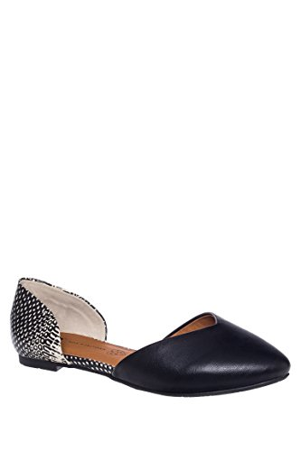 Up All Night D'Orsay Pointed Toe Flat