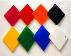 Acrylic sheet 12 x 24 inch thickness 3mm (any One random color )