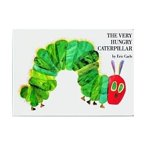 Book, The Very Hungry Caterpillar Board Book, (Eric Carle)