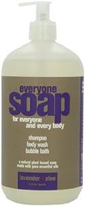Everyone 3-in-1 Soap, Lavender plus Aloe, 32 Ounce
