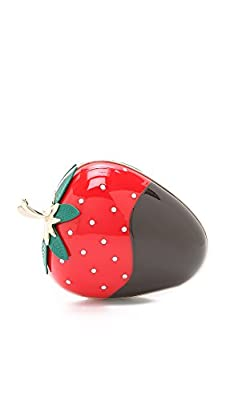 Kate Spade New York Women's Dipped Strawberry Clutch