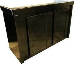 R&J Enterprises ARJ00431 Birch Wood Aquarium Cabinet Stand, 48 by 18-Inch, Black
