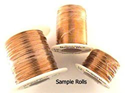 34AWG Solid Insulated Magnet Wire - 1 Pound Roll