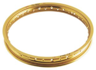 Pro-Wheel Front Motorcycle Rim Gold 1.60 x 21 All ATK/Kawasaki/KTM/Suzuki/Yamaha All big bikes